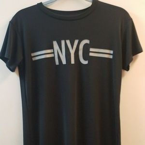 TRF Zara Black NYC New York t-shirt top small